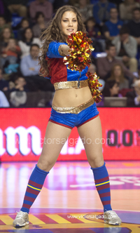 Regal Futbol Club Barcelona - Cajasol - 2012 2013 - ACB - jornada 10 - Liga Endesa - ACB - Baloncesto - Basket - Basketball - deporte - Dream Cheers - Cheerleaders oficiales FC Barcelona
