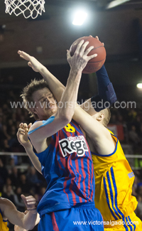 Regal Futbol Club Barcelona - KHIMKI - BC Khimki Moscow Region - 2012 2013 - Eurolegue - turkish airlines euroleague - Top 16 - Baloncesto - Basket - Basketball - deporte - Paul Davis - CJ Wallace