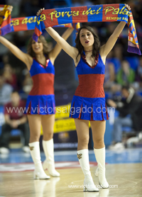 Regal Futbol Club Barcelona - Uxue Bilbao Basket - Bilbao Basket - 2012 2013 - ACB - playoff - cuartos de final - Liga Endesa - ACB - Baloncesto - Basket - Basketball - deporte - Dream Cheers - Cheerleaders oficiales FC Barcelona - Cheerleaders