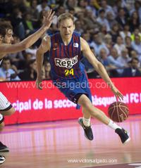 Regal Futbol Club Barcelona - Uxue Bilbao Basket - Bilbao Basket - 2012 2013 - ACB - playoff - cuartos de final - Liga Endesa - ACB - Baloncesto - Basket - Basketball - deporte - Roger Grimau - Brad Oleson
